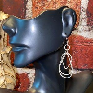 .925 Sterling Silver Dangle Earrings